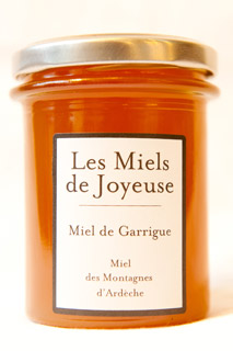Garrigue honey, 250g jar